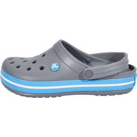 Crocs Crocband Clogs charcoal/ocean
